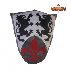 NEW! - Medieval Knights Fluer Shield